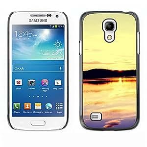 TopCaseStore / la caja del caucho duro de la cubierta de protección de la piel - Sunset Beautiful Nature 109 - Samsung Galaxy S4 Mini i9190 MINI VERSION!