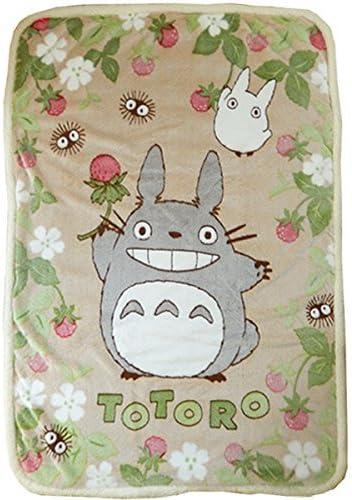 TOTORO Studio Ghibli My Neighbor Design Throw Blanket (Size: 55 X 39) by: Amazon.es: Hogar