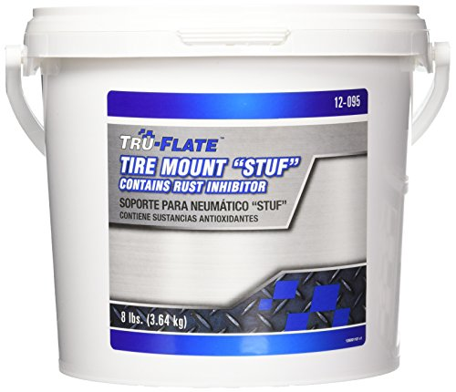 Plews / Edelmann Tru-Flate 12-095 Stuf Concentrated Tire Mounting Lubricant, 8 lb. Pail, 1 Pack