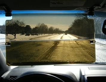 Clip On Type BAAQII Car Sun Visor Glare Reducer Summer Winter Extension Bright Sun Reducer Anti-glare Goggle
