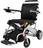 BEIZ Folding Power Wheelchair With Battery-D05 Lightweight Mobility Electric Wheelchair-Best Easy Carry Mobility Scooter