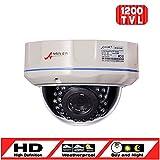 ANRAN 1200TVL SONY CMOS Sensor High Resolution 30IR LEDs Color Day Night Vision Infrared Security Waterproof Outdoor Indoor Dome Surveillance CCTV Camera