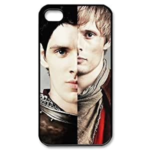 Custom Your Own Personalised Hard Merlin iPhone 4/4S Cover , Snap On Merlin iPhone 4/4S Case