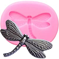 1pc Cute Insect Dragonfly Silicone Mold for DIY Crystal Gum Paste Fondant Mold Soap Mould Jelly Shots Handmade Ice Cream…