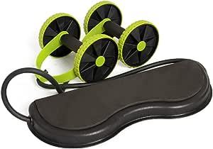 Abdominal Wheel Home Abdominal Muscle Wheel Fitness Wheel Roller Mute Drawstring Multi-function Slimming Abdominal Device