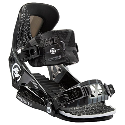 Hyperlite 2018 The System Pro (Black Smoke) Wakeboard Bindings