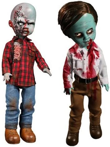 PLAID SHIRT ZOMBIE Mezco Living Dead Dolls DAWN OF THE DEAD