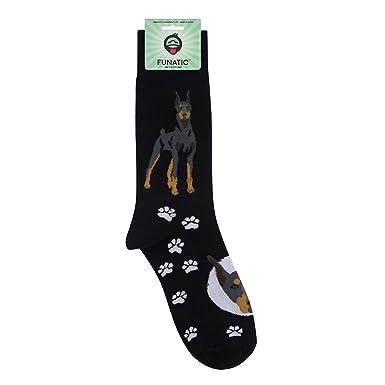 e19b1921d1616 Doberman Pinscher – Cute Dog Puppy & Pet Lover Unisex Casual Dress Socks