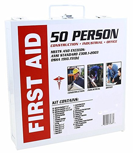 New Home office Commercial business 50 Person Medical First Aid Kit Health Care