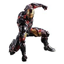 "Square Enix Iron Man Variant ""Marvel Comics"" Play Arts Figure"