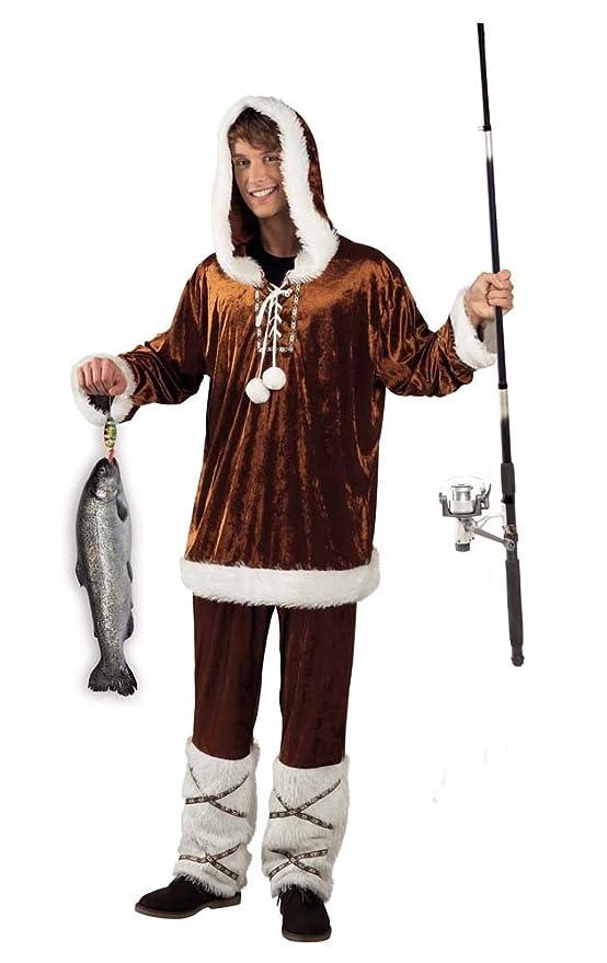 Disfraz para adultos Esquimal Man Elite Talla 50/52: Amazon.es ...