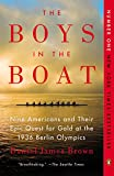 Book cover for The Boys in the Boat: Nine Americans and Their Epic Quest for Gold at the 1936 Berlin Olympics