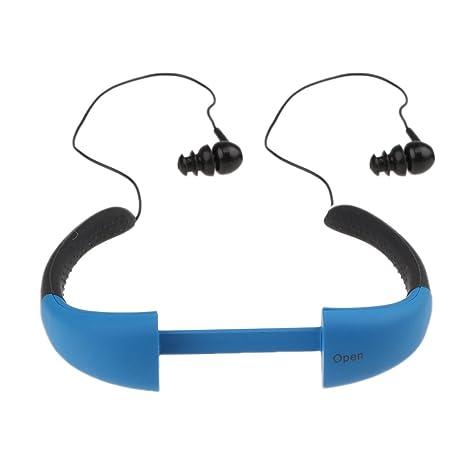 MagiDeal Impermeable IPX8 MP3 Auriculares Deportivos con Memoria ...