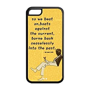 The Great Gatsby Iphone 6 plus (5.5) Hard Case NewOne Novel Film Series The Great Gatsby Yellow Back Cover Protective Cases for Iphone 6 plus (5.5)
