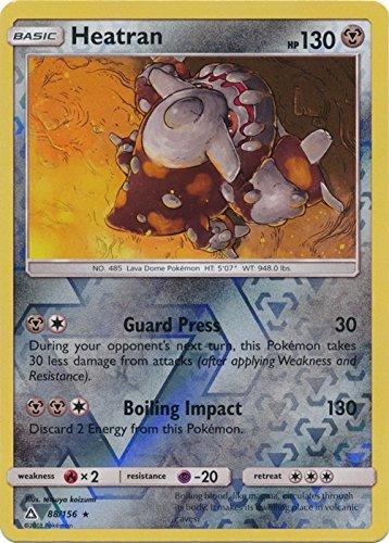 Heatran - 88/156 - Holo Rare - Reverse Holo - Sun & Moon: Ultra Prism (Heatran Pokemon Card)