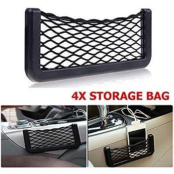 2X Car//Van Net Storage Bag Pocket Organizer holder for Phone//Wallet//E Cig//GIFT