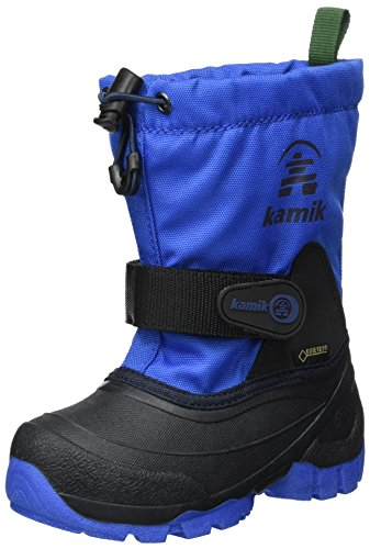 Kamik Unisex-Kinder Waterbug9g Schneestiefel Blau