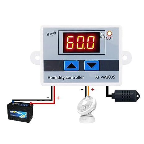 Inkbird IHC-200 100 265 V Digital Air Luftfeuchtigkeit Regler Igrometer Controller Umidierung /& Entfeuchtung mit Sensor Inkbird Tech