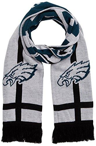 NFL Philadelphia Eagles Silas OTS Scarf, White, One Size