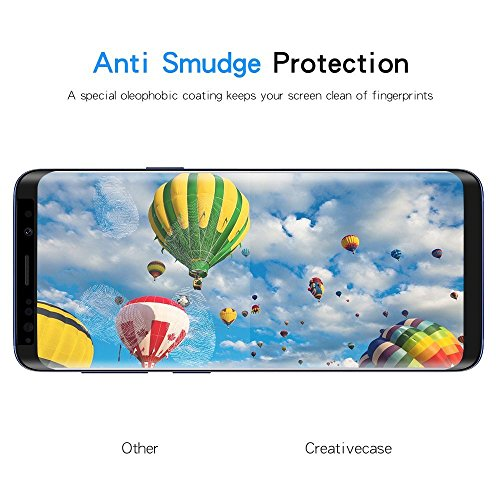 Galaxy S9 Screen Protector, Premium 3D Tempered Glass [2 Pack] [Full Coverage] [Ultra-Clear] [Bubble-Free] [Anti-Scratch] Screen Protector for Samsung Galaxy S9