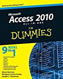 img - for Access 2010 All-in-One For Dummies by Alison Barrows (2010-05-10) book / textbook / text book