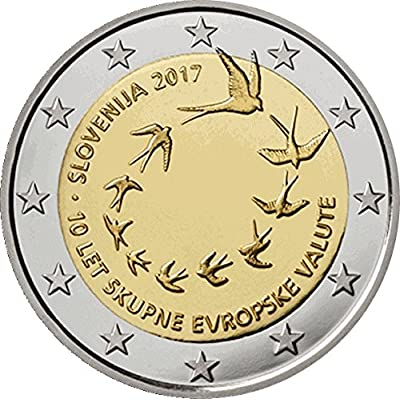 2 Euro Slovénie - 10e anniversaire de l'introduction de l'Euro-unc