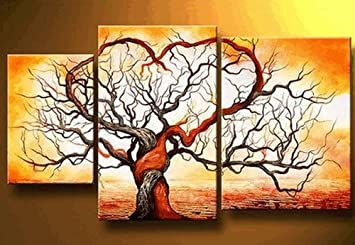 love tree modern art 100 hand painted oil painting on canvas wall art deco home