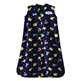 Halo SleepSack Micro-Fleece Wearable Blanket, Travel Time, Small