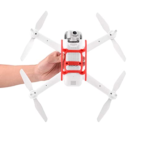 Honbobo Tren de Aterrizaje para Xiaomi FIMI A3 Drone (Rojo ...