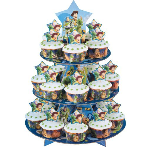 WILTON Toy Story 3-Tier Cupcake Stand Kit - Holds 24 Cupcakes!]()