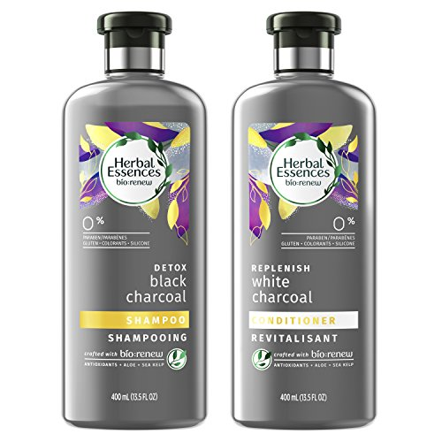 Herbal Essences, Shampoo and Sulfate Free Conditioner Kit, BioRenew Activated Charcoal, 13.5 fl oz, ()