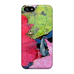 Iphone 5/5s Case Slim [ultra Fit] Leaves Protective Case Cover