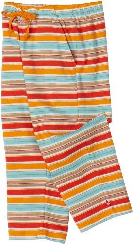 Zutano Little Boys Miami Stripe Tie Waist Pant, Cocoa/Mandarin, (Mandarin Stripe Tie)