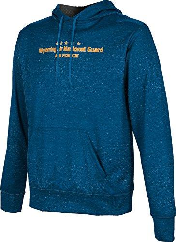 Men's Wyoming Air National Guard Military Heather Hoodie Sweatshirt (Apparel)