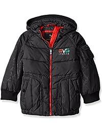Big Boys' VB Basic Jacket, Black, 10/12