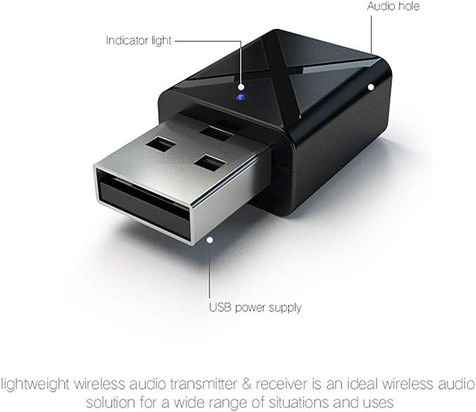 modulo ricevitore AUX Bluetooth universale Adattatore Bluetooth portatile wireless 2 Adattatore AUX-IN RCA per car audio Ricevitore audio Bluetooth