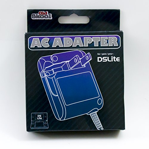 Old Skool Wall Charger for Nintendo DS Lite Foldable Flip AC Adapter power cord (Lite Ds Ac Nintendo Charger)