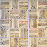 Oak Rack PVC 3D Wall Panels - Interior Design Wall Paneling Decor Commercial and Residential Application, 3.1' x 1.3'