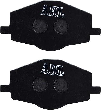 AHL Motocyclette plaquettes de frein Arri/ère pour Yamaha DT 125 RE 2005-2007 Semi m/étal