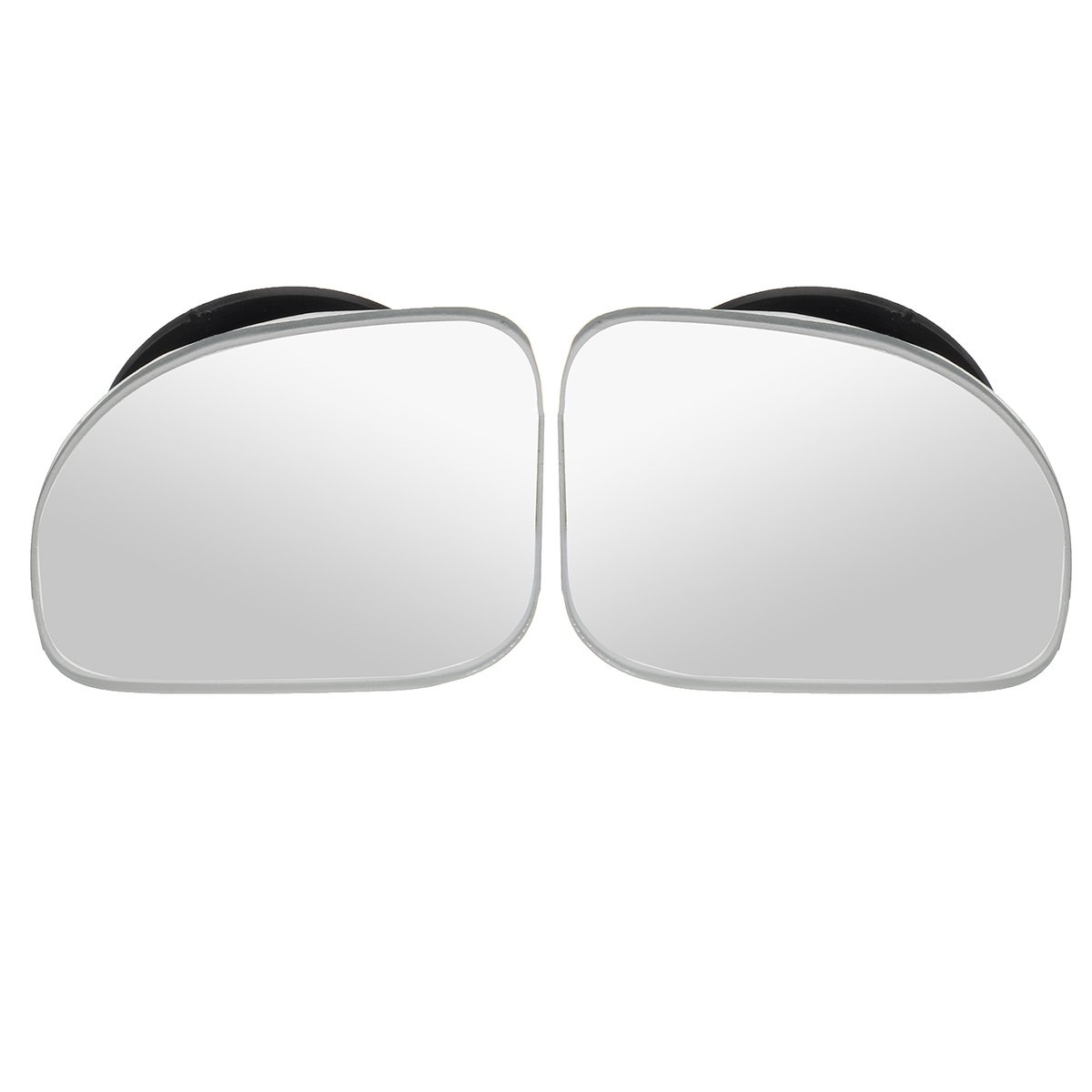 HITSAN INCORPORATION 2PCS Adjustable Car Convex Blind Spot Side Rear View Mirror Wide Angle
