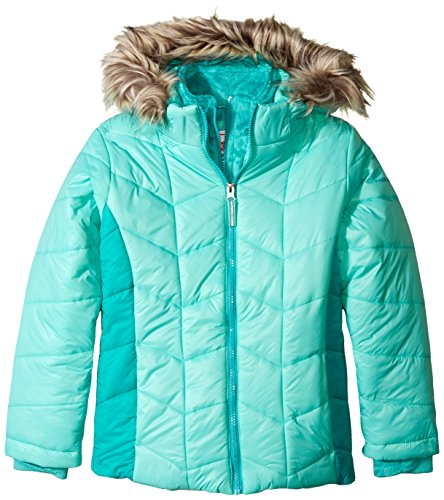 with Free Vestee Puffer Country Little Girls' Coat Story Mint xqXvRSqf