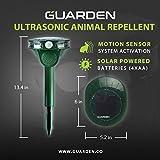 Ultrasonic Garden Cat Repellent Repeller - Keep...