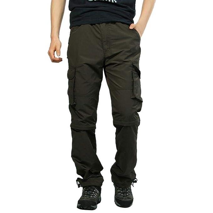 Hombre Pantalones Cargo Pantalones Casual R Army Chino ...