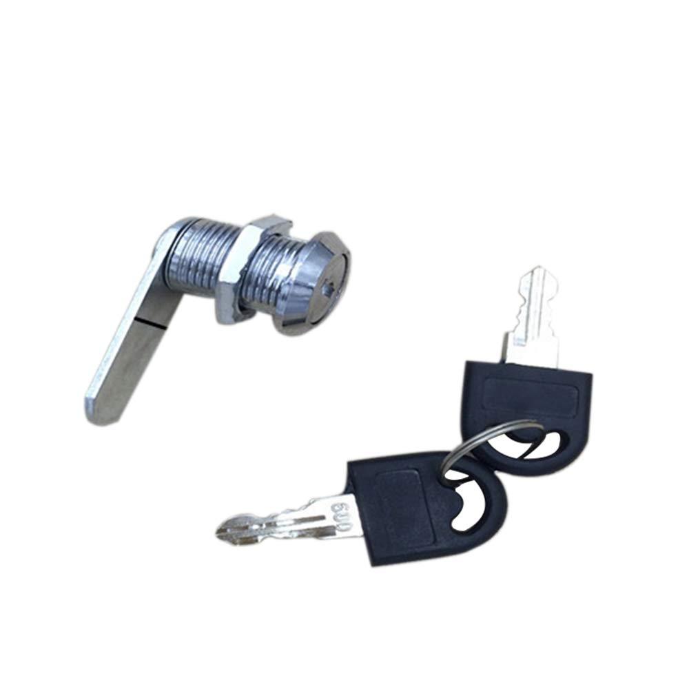Loweryeah Blade Rotary Tongue Lock, Circular Rotary Tongue Lock, Drawer Lock 1pcs
