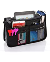 Large Purse Organizer Insert Handbag Pouch Tidy & Neat (Ships From USA)
