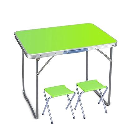 TTZDZ Mesa Plegable Mesa de Estudio portátil Mesa de Estudio ...