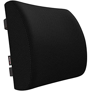 Amazon.com: PrimeTrendz TM Lumbar Cushion - Black Color ...