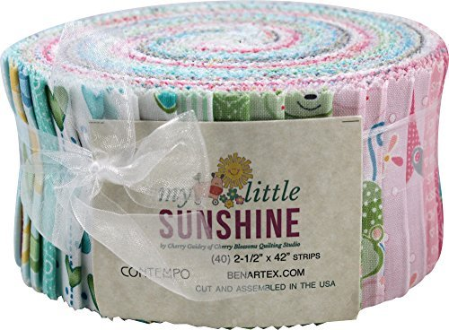 - My Little Sunshine Baby Jelly Roll 40 2.5-inch Strips by Benartex