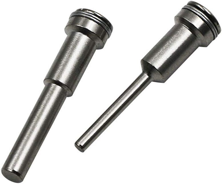 6 mm /Öffnung Optionale Drehwerkzeugteile Diamantschraube Dornschaft Langlebiges Mini-Schleifzubeh/ör BIlinli HSS-Trennscheibenhalter f/ür Wellenwerkzeug 3,2 mm