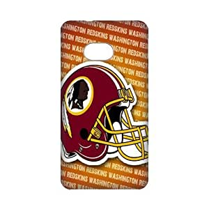 DIY Case Cute NFL Washington Redskins Football Sports Hard Plastic Back Case Cover for Personalized Case for HTC One M7 Case-Perfect as Christmas gift(2)